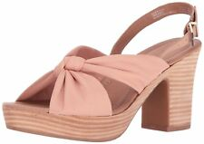 Kenneth Cole Reaction Womens Tole Booth Leather Open Toe Casual Slingback San...