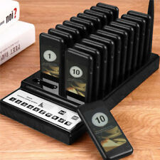 20PCS Upscale Restaurant Coaster Pager Guest Call Wireless Paging Queuing System