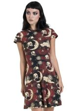 JAWBREAKER ALTERNATIVE FASHION EMO GOTHIC MOONSTONE SKATER DRESS