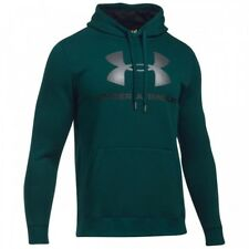 UNDER ARMOUR RIVAL FITTED GRAPHIC HOODIE FELPA DA UOMO