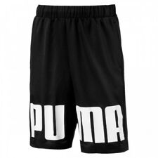 PUMA REBEL WOVEN SHORTS BLACK NERO