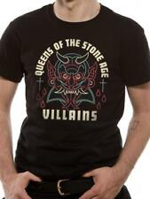 OFFICIAL LICENSED - QUEENS OF THE STONE AGE - VILLAINS T SHIRT ROCK