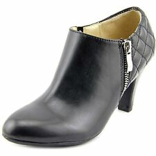 Naturalizer Womens BARRETS Leather Round Toe Ankle Fashion Boots
