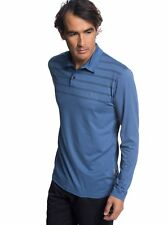 Quiksilver™ Waterman River Explorer - Long Sleeve UPF 30 Polo Shirt - Hombre