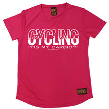 Ladies Cycling Cycling Cardio Breathable sports T SHIRT DRY FIT R NECK T-SHIRT