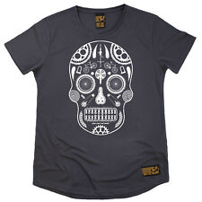 Ladies Cycling Cycle Skull Parts Breathable T SHIRT DRY FIT R NECK T-SHIRT