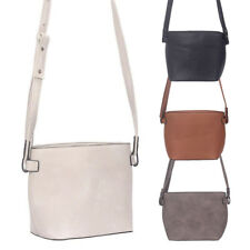 Womens Amee Belt Strap Design Leather Crossbody Shoulder Bag Messenger Handbag
