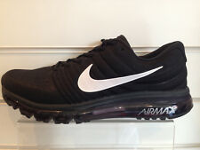 Nike Air Max 2017 - Men Shoes Trainers  Black White New in Box With Tags £149.99
