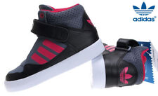 Adidas ORIGINALS AR 2.0 INFANTS Kids Girls Grey PINK WHITE Hi Top Trainers 8.5