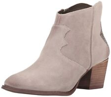 Marc Fisher Stefani Women Round Toe Suede Brown Ankle Boot