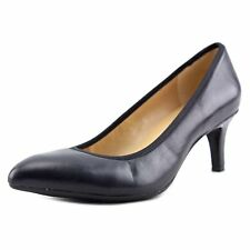 Naturalizer Womens Oden Leather Closed Toe Classic Pumps