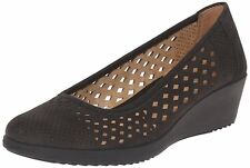 Naturalizer Womens brelynn Leather Closed Toe Wedge Pumps