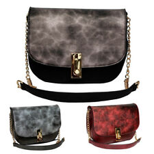 New Womens Zinnea Faux Leather Satchel Crossbody Shoulder Bag Messenger Handbag