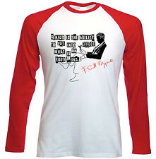 SCOTT FITZGERALD GENIUS IS THE ABILITY - NEW RED SLEEVED TSHIRT