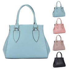 Womens Carina Plain PU Leather Tote Hobo Crossbody Shoulder Bag Shopper Handbag