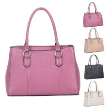 Womens Alissa PU Leather Large Tote Crossbody Shoulder Bag Hobo Shopper Handbag