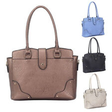 Womens Maddison Leather Large Tote Crossbody Shoulder Bag Hobo Shopper Handbag