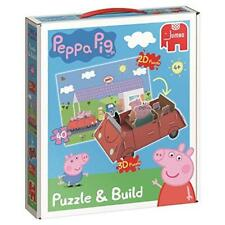 New Peppa Pig Puzzle & Build 3D Puzzle