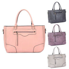Womens Lola PU Leather Large Tote Crossbody Shoulder Bag Hobo Shopper Handbag