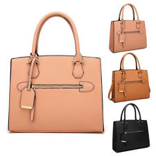 Womens Amerie Luggage Leather Tote Crossbody Shoulder Bag Hobo Shopper Handbag