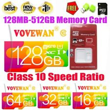 Micro TF Memory Card SD Card Class10 Adapter 8GB-512GB for Camera Cell Phone Lot