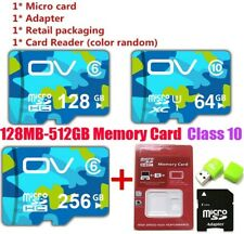 TF Flash Memory Card SD Card Class10 Adapter 8-512GB for Camera Mobile Phone Lot