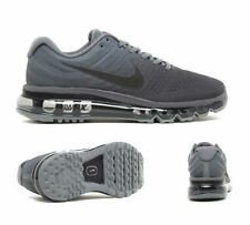 MEN AIR MAX 2017'S BY NIKE SIZES 9+10 COOL GREY-ANTHRACITE-DARK.GREY RRP £139.99