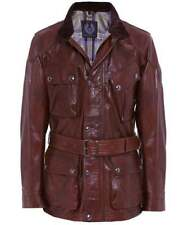 Maschile Belstaff Giacca in pelle panther