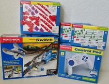 Lot of NIB Rokenbok Monorail System Control Pad Switch Braces Supports Signs Etc