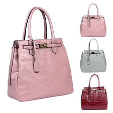 Womens Tyra PU Leather Large Tote Crossbody Shoulder Bag Hobo Shopper Handbag