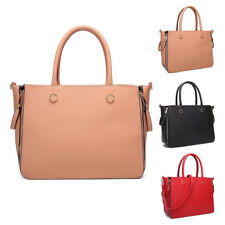 Womens Florida Large PU Leather Tote Crossbody Shoulder Bag Hobo Shopper Handbag