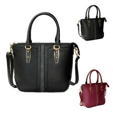 Womens Zahara PU Faux Leather Tote Crossbody Shoulder Bag Hobo Shopper Handbag