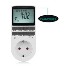 LCD Plug-in Programmable 12/24 Hour Timer Switch Socket Week Hour Minute Outlet