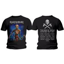 OFFICIAL LICENSED - IRON MAIDEN - BOOK OF SOULS TOUR EDDIE AXE T SHIRT METAL