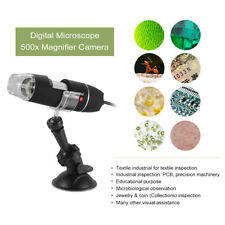 Practic 8-LED USB Digital Microscope Endoscope Magnifier Electronic Video Camera