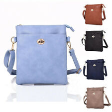 Womens Liyan PU Leather Clutch Clasp Crossbody Shoulder Bag Messenger Handbag