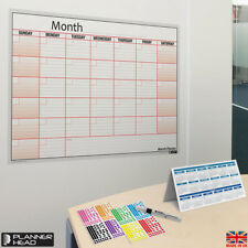 LAMINATED Month Planner Wall Chart Monthly Planner ✔Use Any Month, Any Year ✔UK