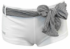 Pantaloncini Denny Rose Donna Bianco/Righe Shorts Woman White/Lines