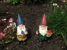 Pair of fabulous garden gnomes choice of sets - great Fathers day film gift idea
