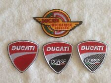 Ducati Motorcycles Biker Patches / Badges - Embroidered - Sew On Breast