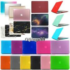 New Hardshell Hard Rubberized Case Cover Apple MacBook air Pro 11 13 15 inch