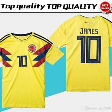 2018 World Cup Colombia Soccer Jersey Colombia Home Yellow Soccer Shirt 2018