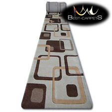 CHEMIN DE TABLE Tapis,FOCUS F240 caramel,moderne,Escaliers largeur 70 cm - 120