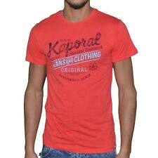 Kaporal - T-shirt manches courtes - Homme - Feel 09 - Rouge