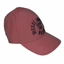 DIESEL  CASQUETTE SNAPBACK  TAILLE RÉGLABLE  CAPPI  ROUGE VINTAGE NEUF GRADE A