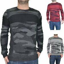 HITE COUTURE  PULL  COL ROND  HOMME  3092  NOIR ROUGE GRIS NEUF GRADE A