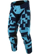 Pantaloni MX Bambino Troy Lee Designs 2018 GP Air Maze Blu Scuro