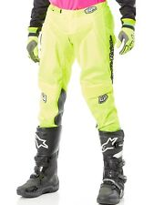 Pantaloni motocross Troy Lee Designs 2018 GP Air Mono Fluorescent Giallo