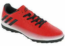 Adidas Messi 16.4 TF Football Astro Trainers Red Lightweight Mens Boots UK 6-13