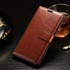 Vintage Leather Case Magnetic Flip Card Wallet Cover For Xiaomi Redmi Phones B